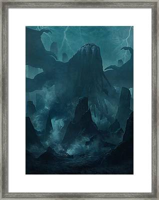 I Am Providence Framed Print by Guillem H Pongiluppi