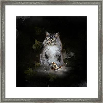 I Am Really Very Sweet Framed Print by Monique Hierck