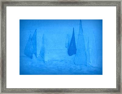 I Am Sailing 2 Framed Print