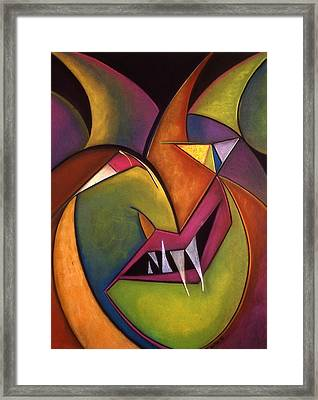 I Am The Eggman Framed Print by Tracey Levine