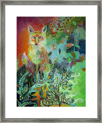 I Am The Forest Path Framed Print by Jennifer Lommers