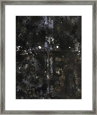 I Am The Gate Framed Print