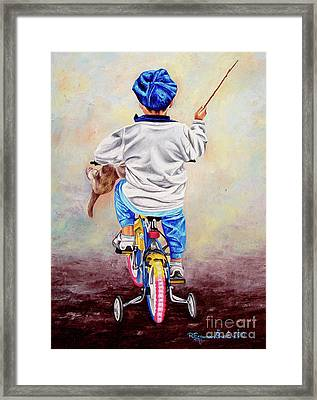 I Am The King Of The World 1 - Yo Soy El Rey Del Mundo 1 Framed Print