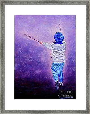 I Am The King Of The World 2 - Yo Soy El Rey Del Mundo 2 Framed Print