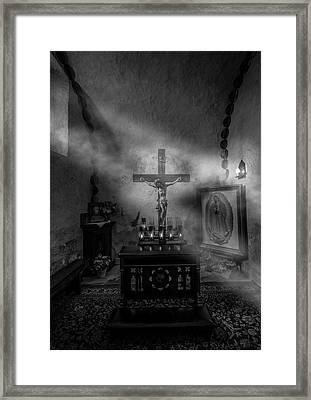 I Am The Light Of The World Framed Print