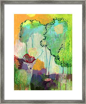 I Am The Meadow In The Forest Framed Print by Jennifer Lommers