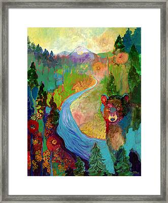 I Am The Mountain Stream Framed Print