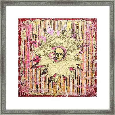 I Am The Petal You Forgot To Pick And I Love You Not Framed Print by Bobby Zeik
