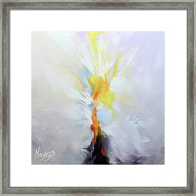 I Am The Resurrection Framed Print by Mike Moyers