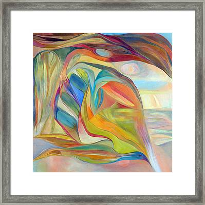 I Am The Universe Framed Print