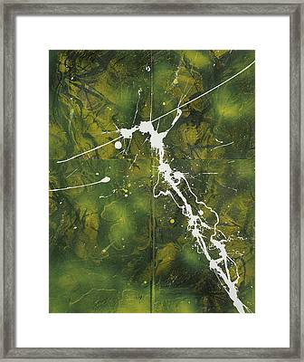I Am The Vine Framed Print