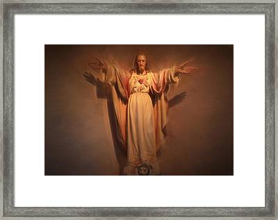 I Am The Way Framed Print by Donna Kennedy