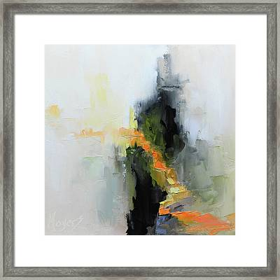 I Am The Way Framed Print by Mike Moyers