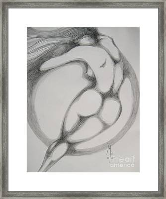 I Am The Wind Framed Print by Marat Essex