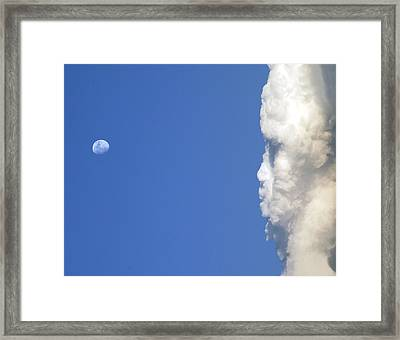 I Am Watching You Framed Print by James Steele