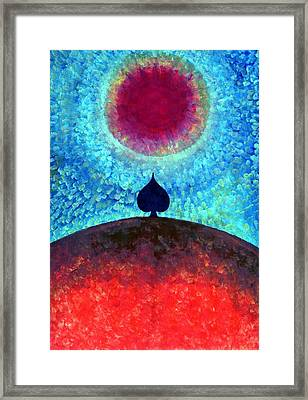 I Am Framed Print by Wojtek Kowalski