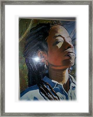 I Am Woman Framed Print by Michael Mahue Moore