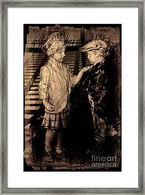 I Approve Framed Print by Al Bourassa