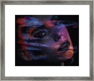 I Breathe Art Therefore I Am Art Framed Print
