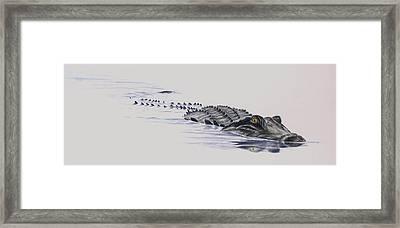 I C U Framed Print by Lane Owen