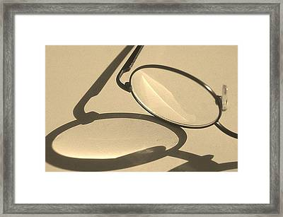I C You Framed Print by Jacqueline Lewis