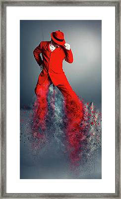 I Can Boogie Framed Print