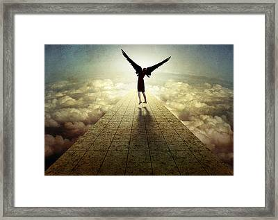 I Can Fly ... Framed Print