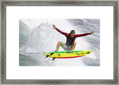 Framed Print featuring the photograph I Can Fly by Nathan Rupert