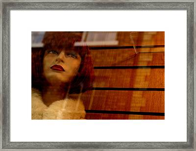 I Can Go If I Want Framed Print by Jez C Self