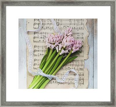 Framed Print featuring the photograph I Can Hear Music by Kim Hojnacki