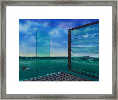 I Can See Clearly Now Framed Print by Sharon Ebert