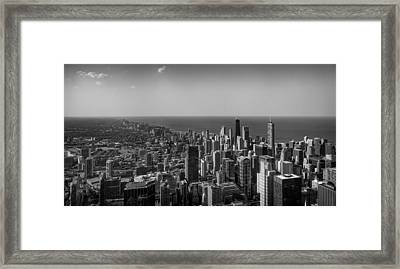 Framed Print featuring the photograph I Can See For Miles And Miles by Howard Salmon