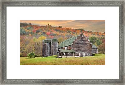 I Can Smell Autumn Framed Print by Lori Deiter