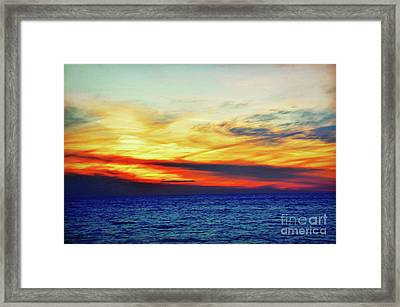 I Can Touch The Sky Framed Print by Robyn King