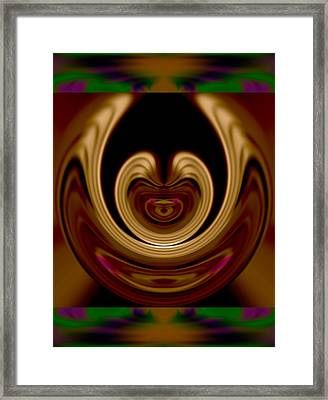 I Cannot Tell The Difference Between Your Manufactured Mischief And Your Manufactured Morality 2015 Framed Print by James Warren