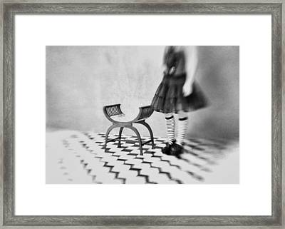 I Can't Go Back To Yesterday Because I Was A Different Person Then Framed Print