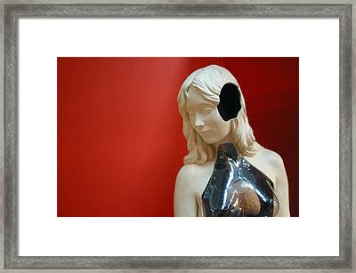 I Cant Hear You 2 Framed Print by Jez C Self