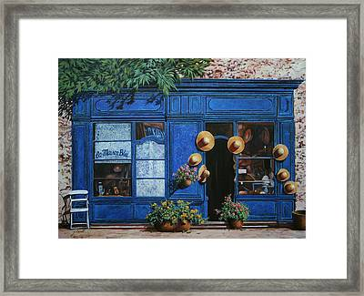 I Cappelli Gialli Framed Print by Guido Borelli