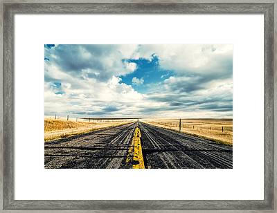 I Come From Nowhere Framed Print