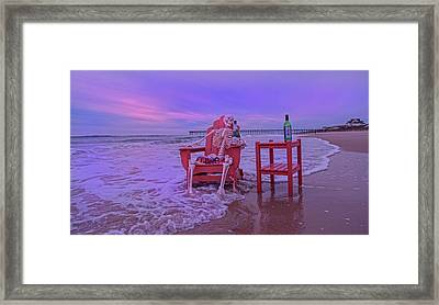I Could Stay Here Forever Framed Print by Betsy Knapp