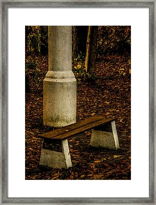 Framed Print featuring the photograph I Could Wait by Odd Jeppesen