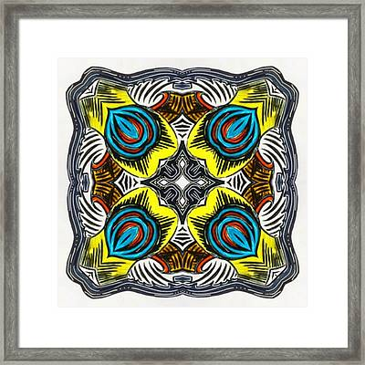 I Did A Marker Drawing At The Framed Print