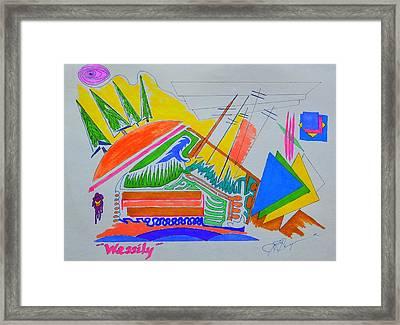 I Dig Vassily Framed Print