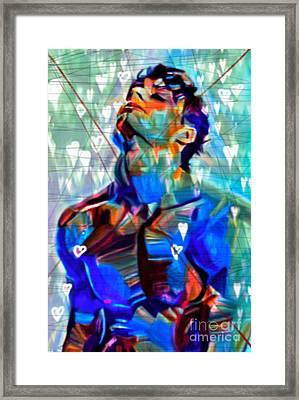 I Dont Love U Part 3 Framed Print by Felix Von Altersheim