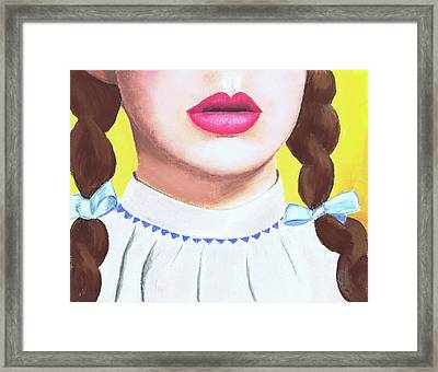 I Don't Think We're In Kansas Anymore Framed Print