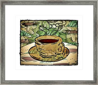 I Dream Of Coffee Framed Print by Terry Mulligan