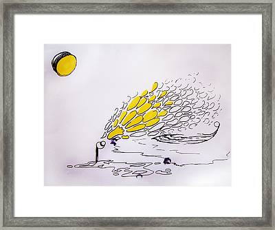 I Dream Of Lemons Framed Print
