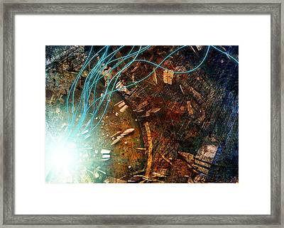 I Dream Of Wires 2.0 Framed Print