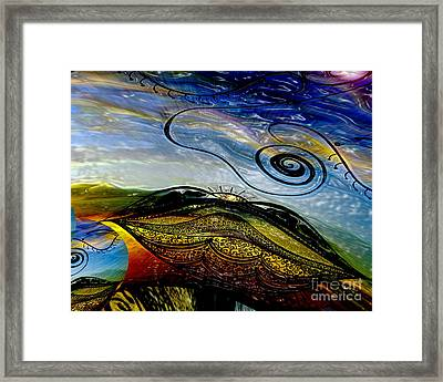 I Dream The Dawn Framed Print