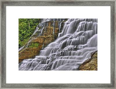 I Fall For You Framed Print